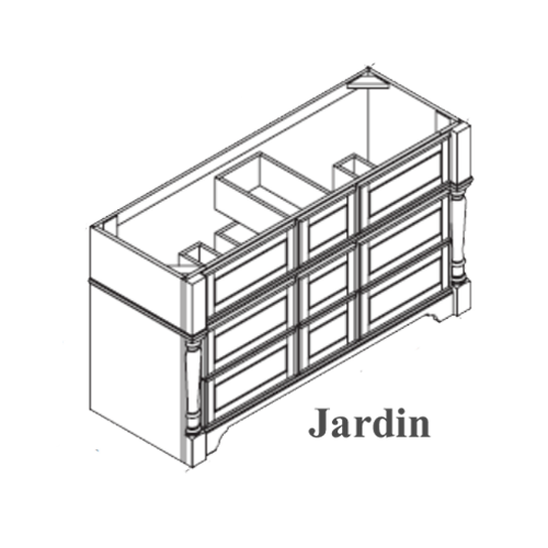 Omega Jardin Drawer Base