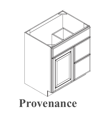 Omega Bath Provenance Base Cabinets